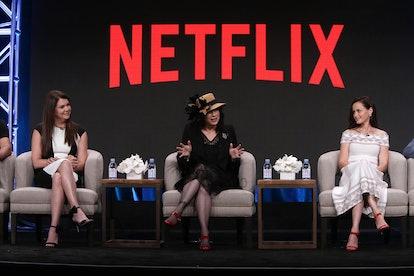 Alexis Bledel, Amy Sherman Palladino, Lauren Graham 'Gilmore Girls' Revival