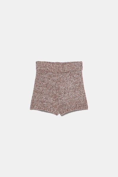 Twisted Knit Shorts