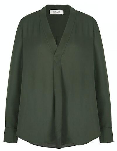 Sanorah crepe de chine blouse