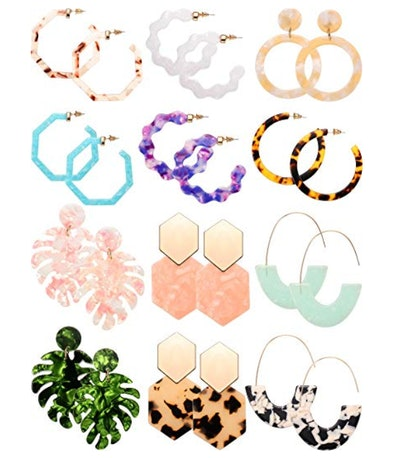 Skylety Tortoise Earrings (12-Pack)
