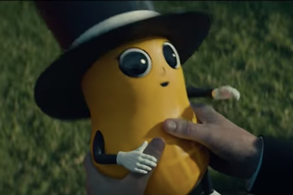 Baby Nut in the 2020 Super Bowl ad