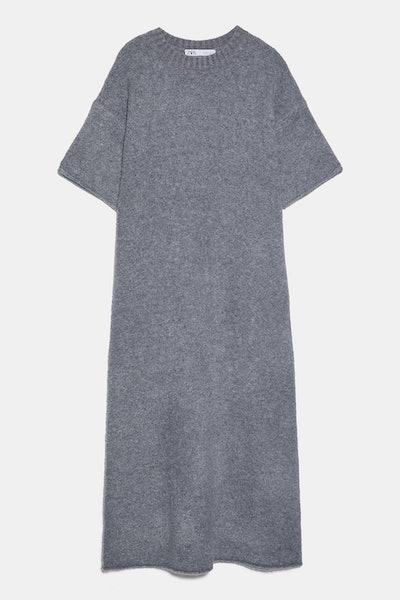 Knit Wool Blend Dress