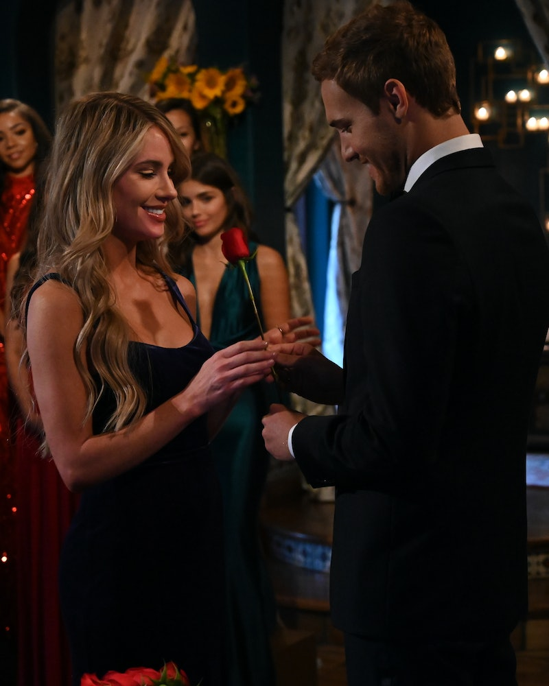 Victoria P. and Peter on The Bachelor