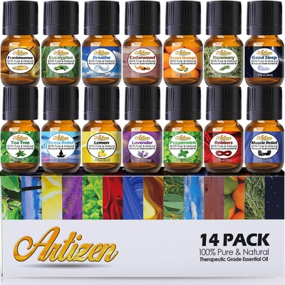 Artizen Essential Oil Set (14-Piece Set)