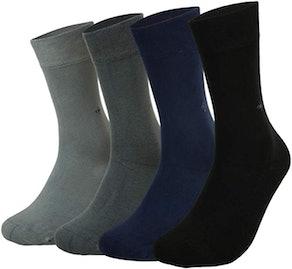 Anatolian Antibacterial Seamless Unisex Socks (4-Pack)