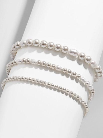 Pearl Pisa Bracelet Set