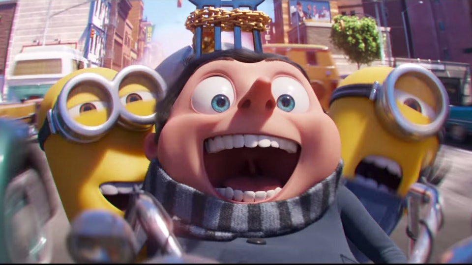 """The Minions: The Rise of Gru'"" features the supervillain as a kid."