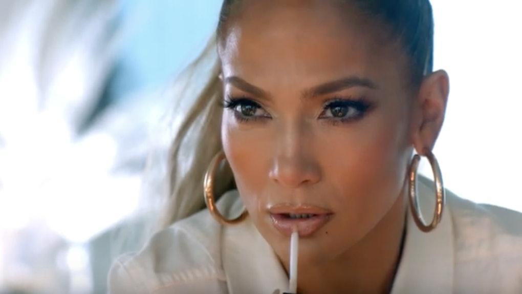 Jennifer Lopez in Hard Rock's 2020 Super Bowl commercial