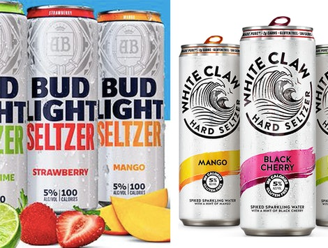 Bud Light Seltzer is joining hard seltzer favorites like White Claw.