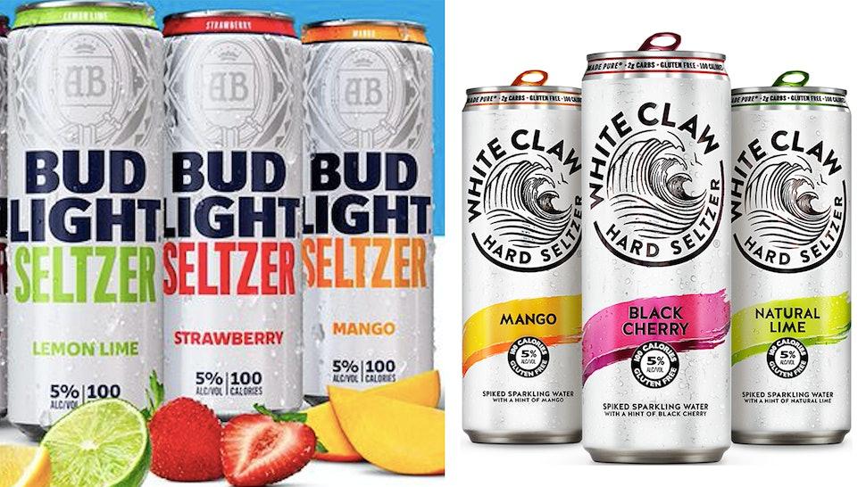 Bud Light Seltzer is joining hard seltzer favorites like White Claw.