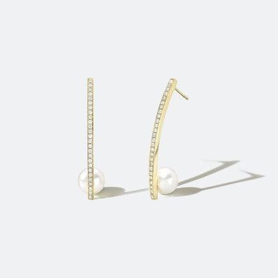Drop Globe Earrings