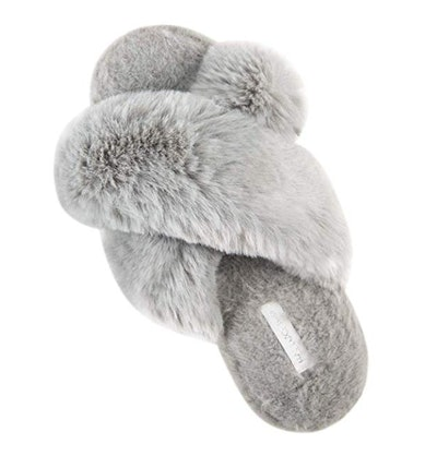 HALLUCI Plush Fleece Slippers