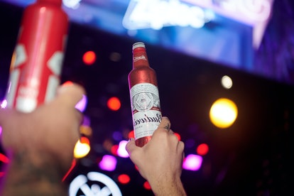 Budweiser's SelfieBud made its debut in Miami for Super Bowl weekend.