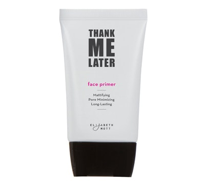 Thank Me Later Primer and Setting Spray Series by Elizabeth Mott
