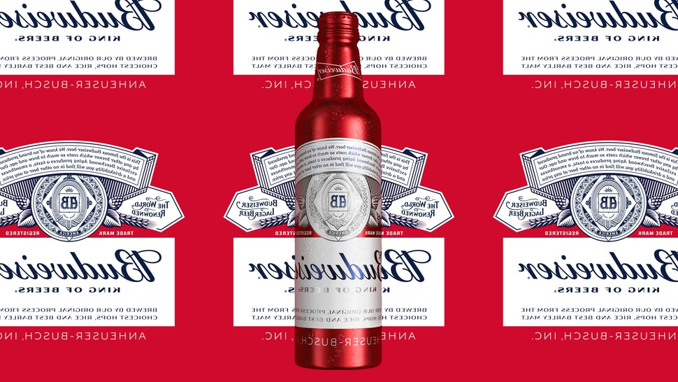 Budweiser released #SelfieBud, a limited-edition bottle with a flipped label.