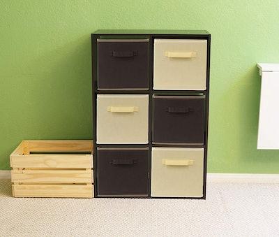 SimpleHouseware Foldable Cloth Storage Cubes (6-pack)