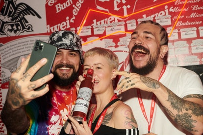 Budweiser launched #SelfieBud as a way to make it easier to take Super Bowl selfies.
