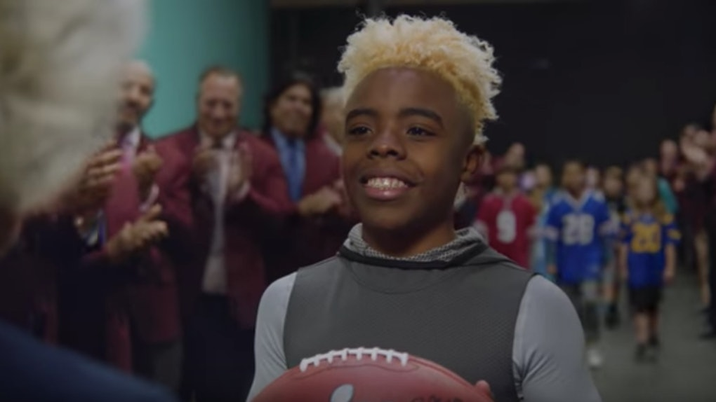 NFL Next 100 Super Bowl commercial