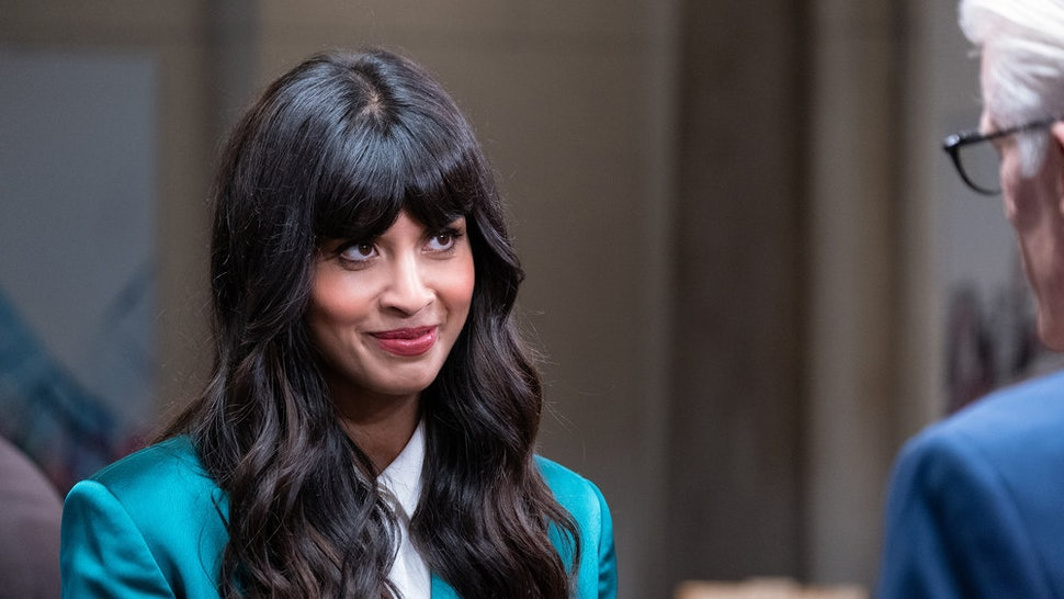 Jameela Jamil is down for a Good Place Spinoff.