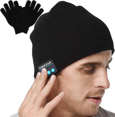 XIKEZAN Knit Bluetooth Beanie