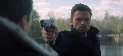 Sebastian Stan as The Winter Soldier in Disney+ 'The Falcon & The Winter Soldier'
