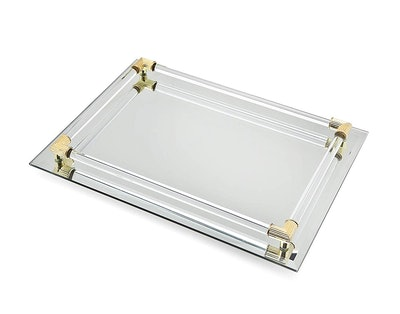STUDIO SILVERSMITHS Mirror Tray Vanity