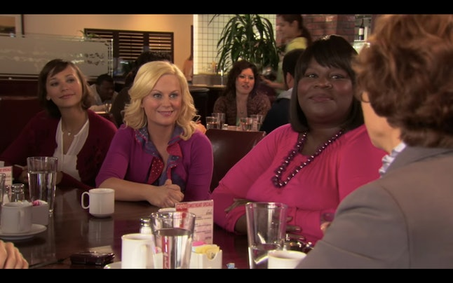Leslie Knope celebrates Galentine's Day every February 13 in order to commemorate her best friends.