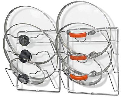 SimpleHouseware Cabinet Door Lid Rack