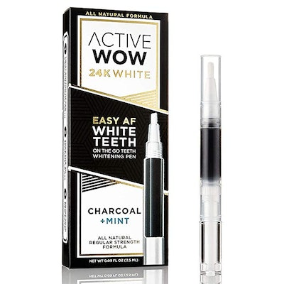 Active Wow Charcoal Teeth Whitening Pen
