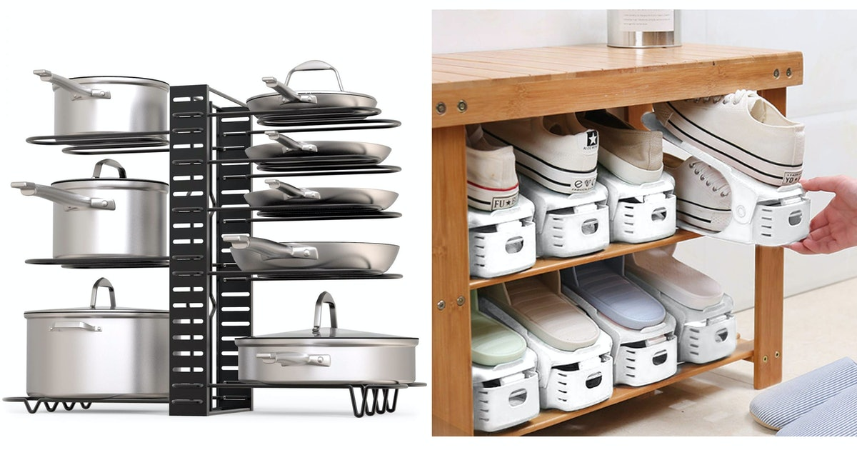 29 Genius Products That Make Your Cabinets & Closet Look 10x More Organized
