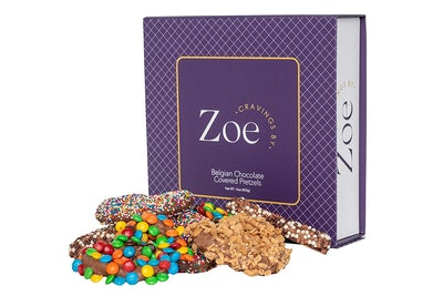 Cravings by Zoe Belgian Chocolate-Covered Pretzels