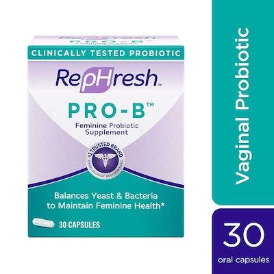 RepHresh Pro-B Probiotic Supplement for Women (30 capsules)