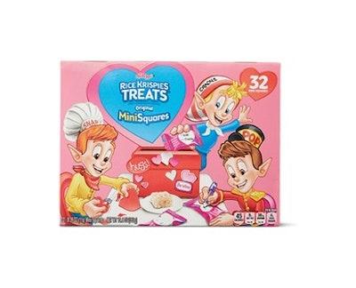 Kellogg's Valentine's Day Rice Krispie Treats Mini Squares