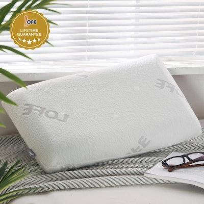Lofe Adjustable Memory Foam Pillow