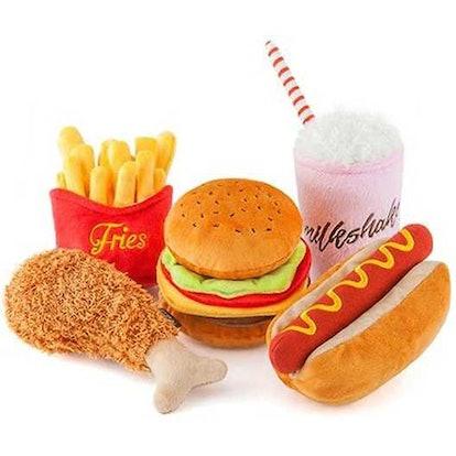 American Classic Food Set Dog Toy