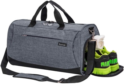 Kuston Duffel Bag With Shoe Compartment