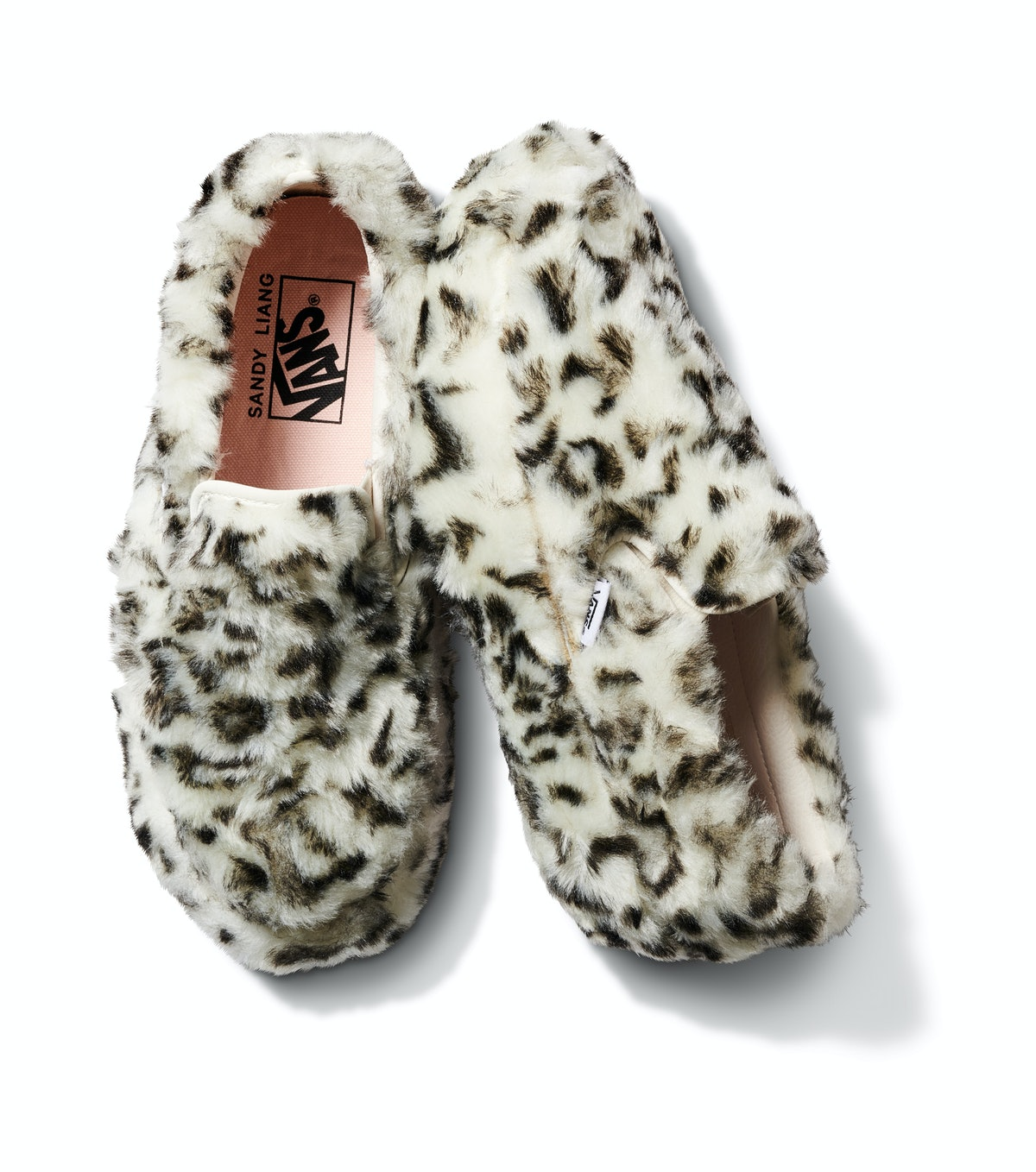 The Vans Platform Slip-On featured in the Sandy Liang collection.