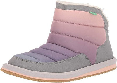 Sanuk Women's Puff N Chill Ombre Ankle Boot