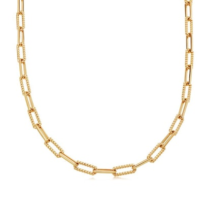 Gold Coterie Chain Necklace