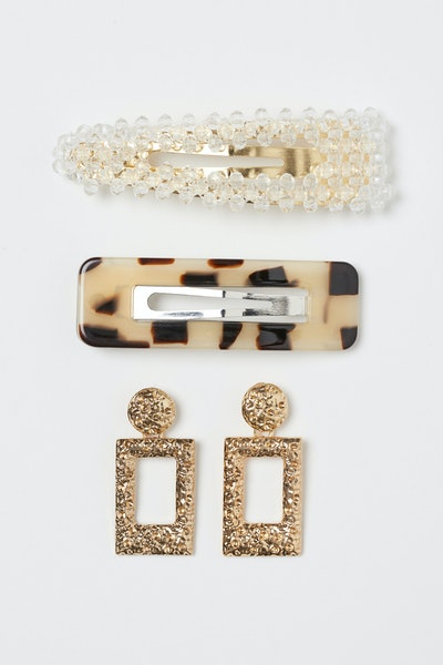 H&M Earrings and Hair Clips
