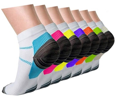 Actinput Compression Socks (7-Pack)