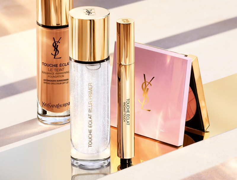 YSL Beauty's new Touche Éclat primer and bronzing highlighter.