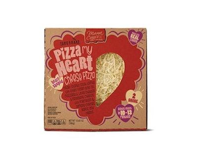 Mama Cozzi's Pizza Kitchen Heart Shaped Cheese Deli Pizza
