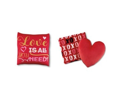Huntington Home Valentine's Day Pillow and Throw