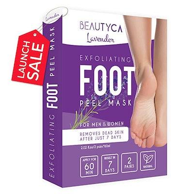 Beautyca Exfoliating Foot Peel Mask