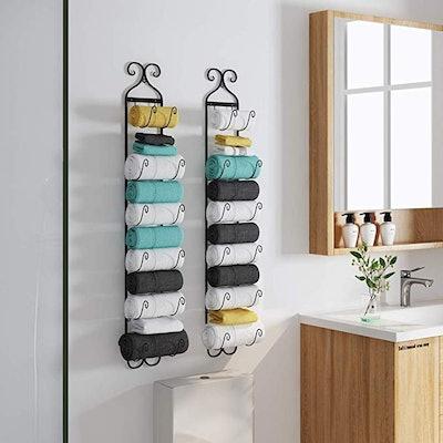 Ctystallove Towel Rack
