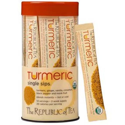 Organic Turmeric Single Sips