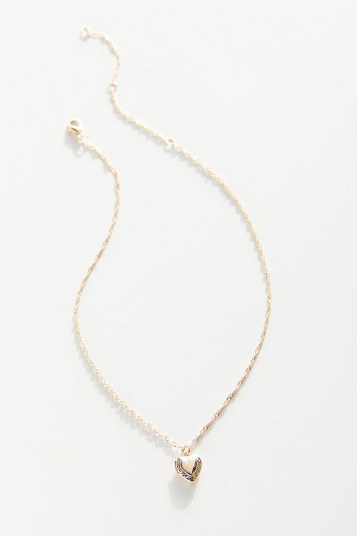 Urban Outfitters Nicola Delicate Locket Necklace