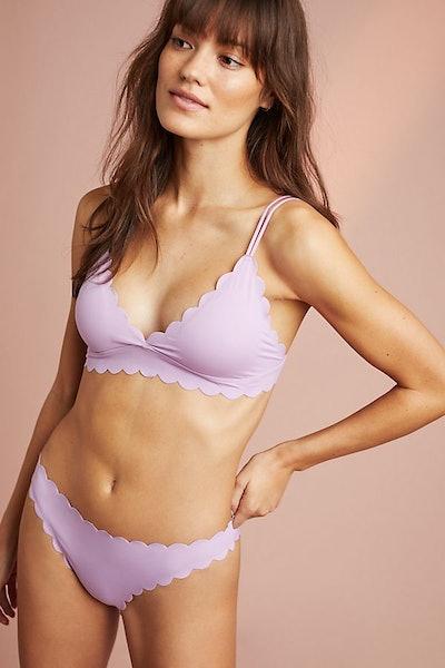 Floreat Scalloped Bikini