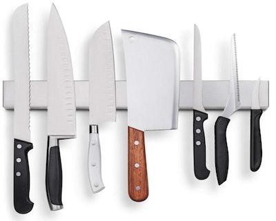 HMmagnets Stainless Steel Magnetic Knife Holder